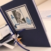 CITAS SMUKLIETIŅAS brides passport lighthouse A5 dark blue