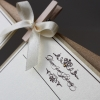 CITAS SMUKLIETIŅAS - sisters wedding 100x150 guest book gold leaf